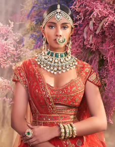 Polki-Semi-Choker-With-Emeralds-And-Green-Meena-From-The-Mihrab-Collection-_Hazoorilal-Legacy_Treniq_0
