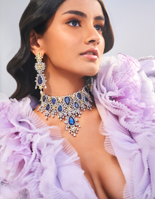 Diamond-Choker-With-Matching-Earrings-From-The-Legacy-Collection-_Hazoorilal-Legacy_Treniq_0